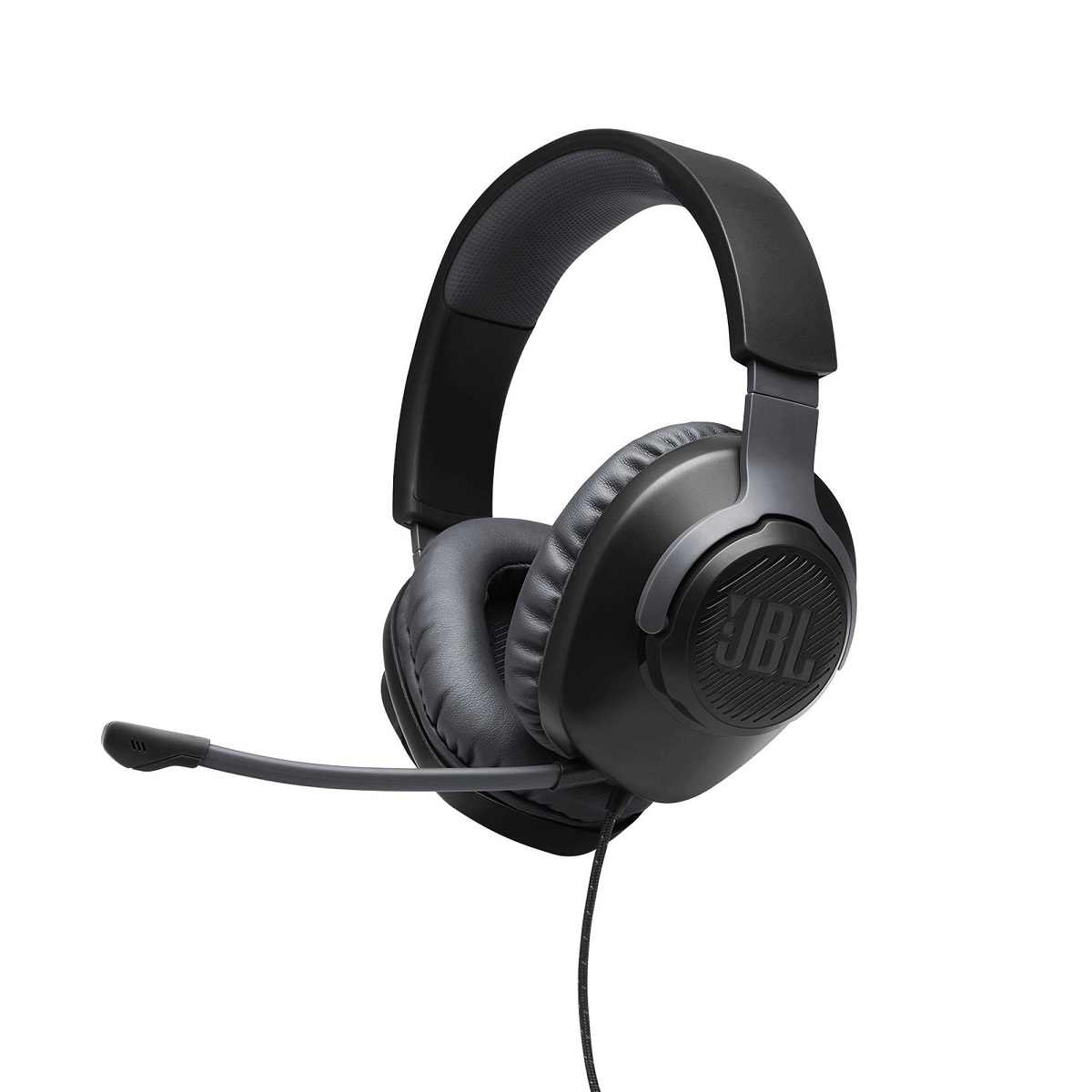 Headset Gamer Quantum 100 Preto JBL Conector P2 Microfone Removivel