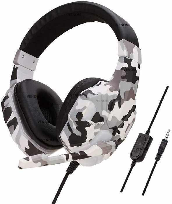 Headset Gamer Soyto SY830 Camuflado Compatível C/ Ps4 Xbox one Smartphone