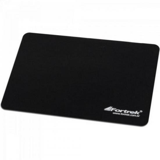 Kit 10 Mouse pad Slim 22 x 18cm Fortrek BAP-102BK Antiderrapante