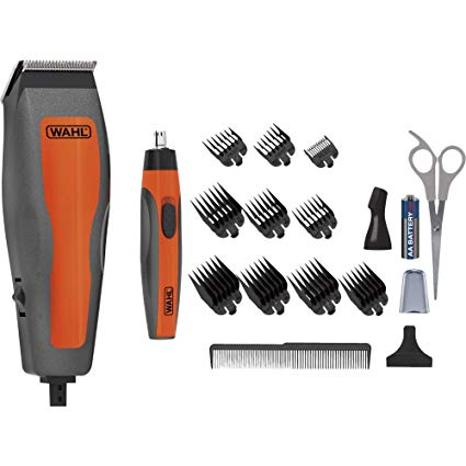 Kit Combo Cut Wahl Cortador Cabelo Barba Trimmer Nasal + Maleta