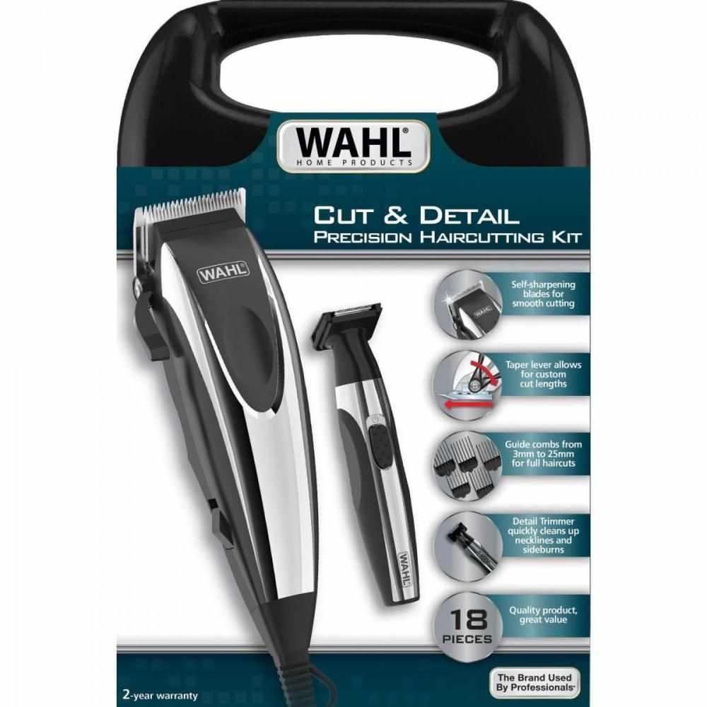 Kit Máquina De Corte E Aparador Cut Detail 110V WAHL