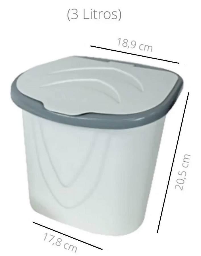 Kit Pia Porta Detergente Lixeira Bucha Rodo Cozinha Keita Pia03