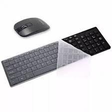 Kit Teclado + Mouse Wireless ULTRA SLIM EXBOM BK-S1000