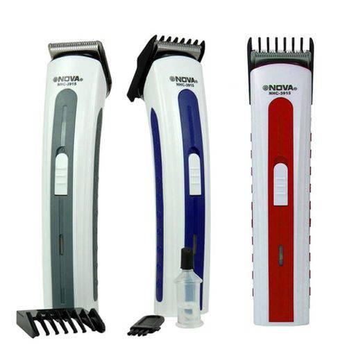 Maquina Aparador Barba Cabelo Pelos NHC-3915 Recarregável
