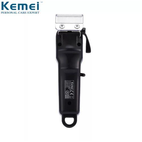Maquina De Cortar Cabelo Barba S/Fio 5W Kemei Km-809A Bivolt