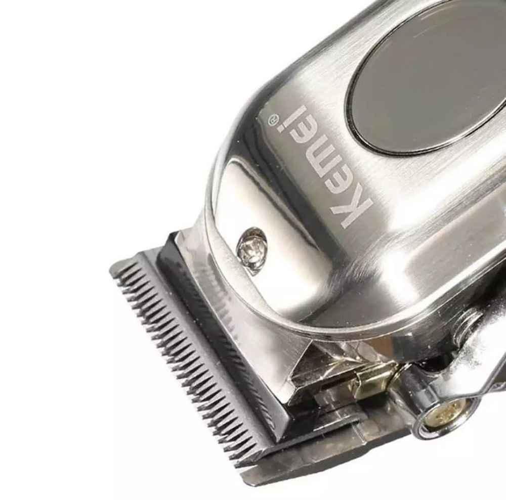 Maquina De Corte Cabelo Profissional Cordless 5w Kemei KM-2002 Bivolt
