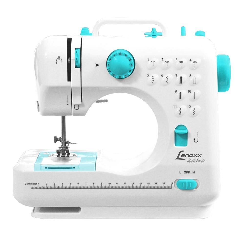 Máquina De Costura Multi Points Portátil Lenoxx Psm101 Bilvot