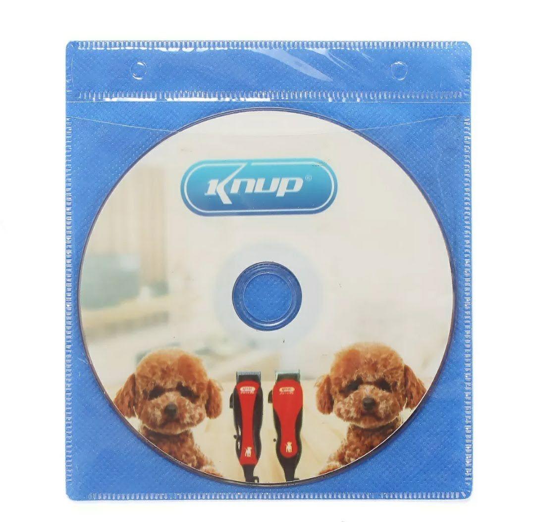 Maquina De Tosar Cães Cachorros 110V Kit Tosa Pet Knup QR-Pet2508