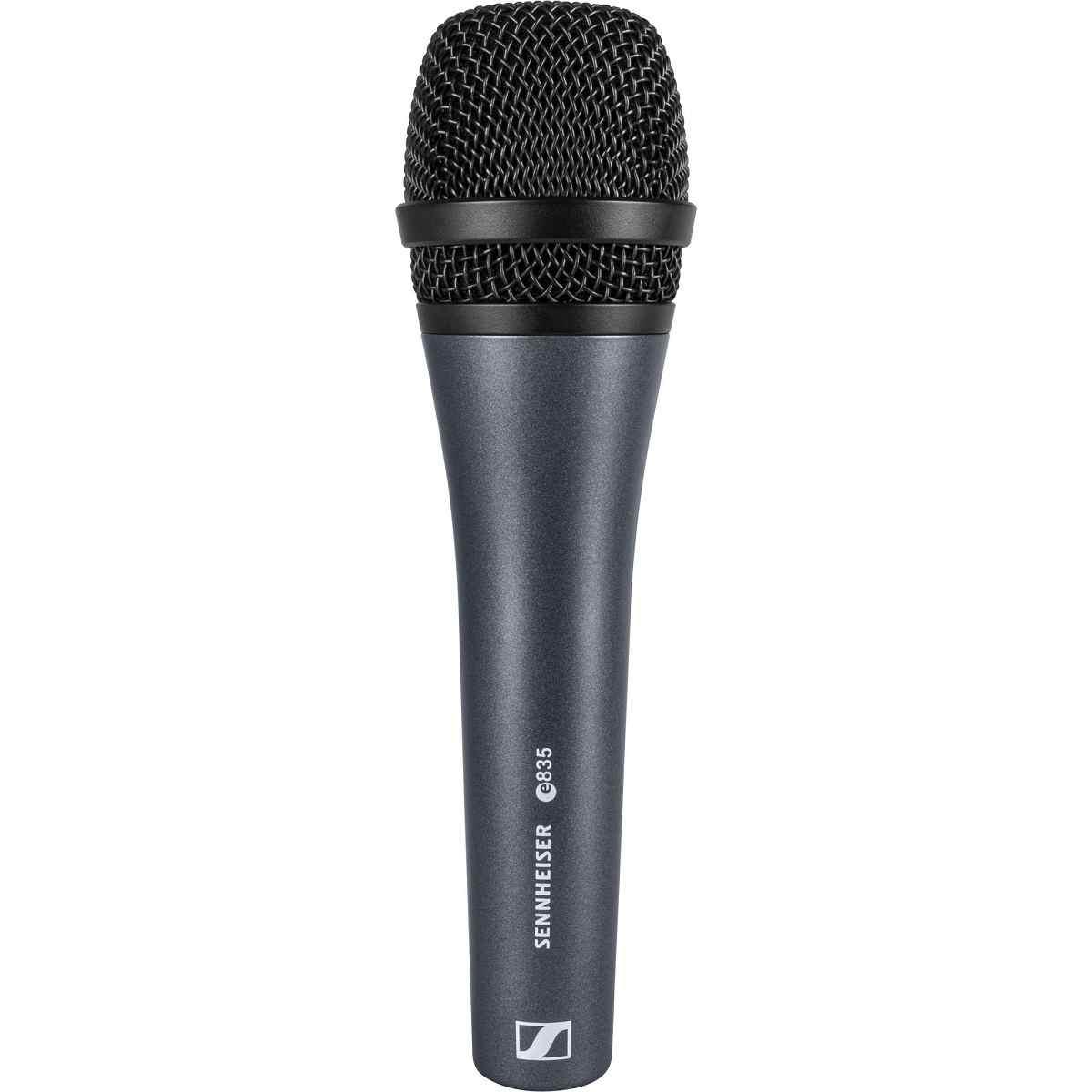 Microfone Dinâmico Cardióide E835 Sennheiser Profissional