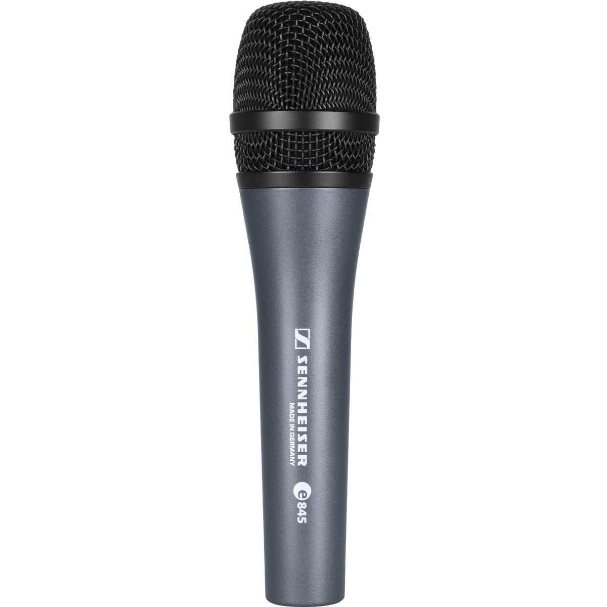 Microfone Dinâmico Super Cardióide E845 Sennheiser Profissional