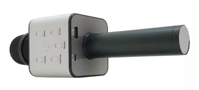 Microfone Sem Fio Bluetooth Alto Falante Embutido Ktv Usb Tomate Mt-1031