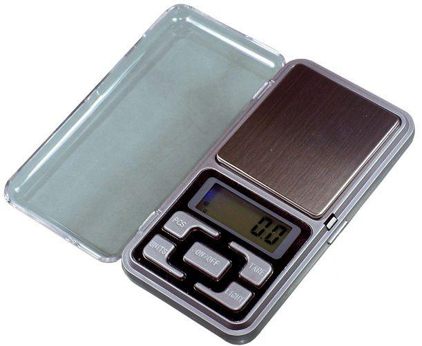 Mini Balança Digital Alta Precisão Escala 0.1 Até 500 Grama
