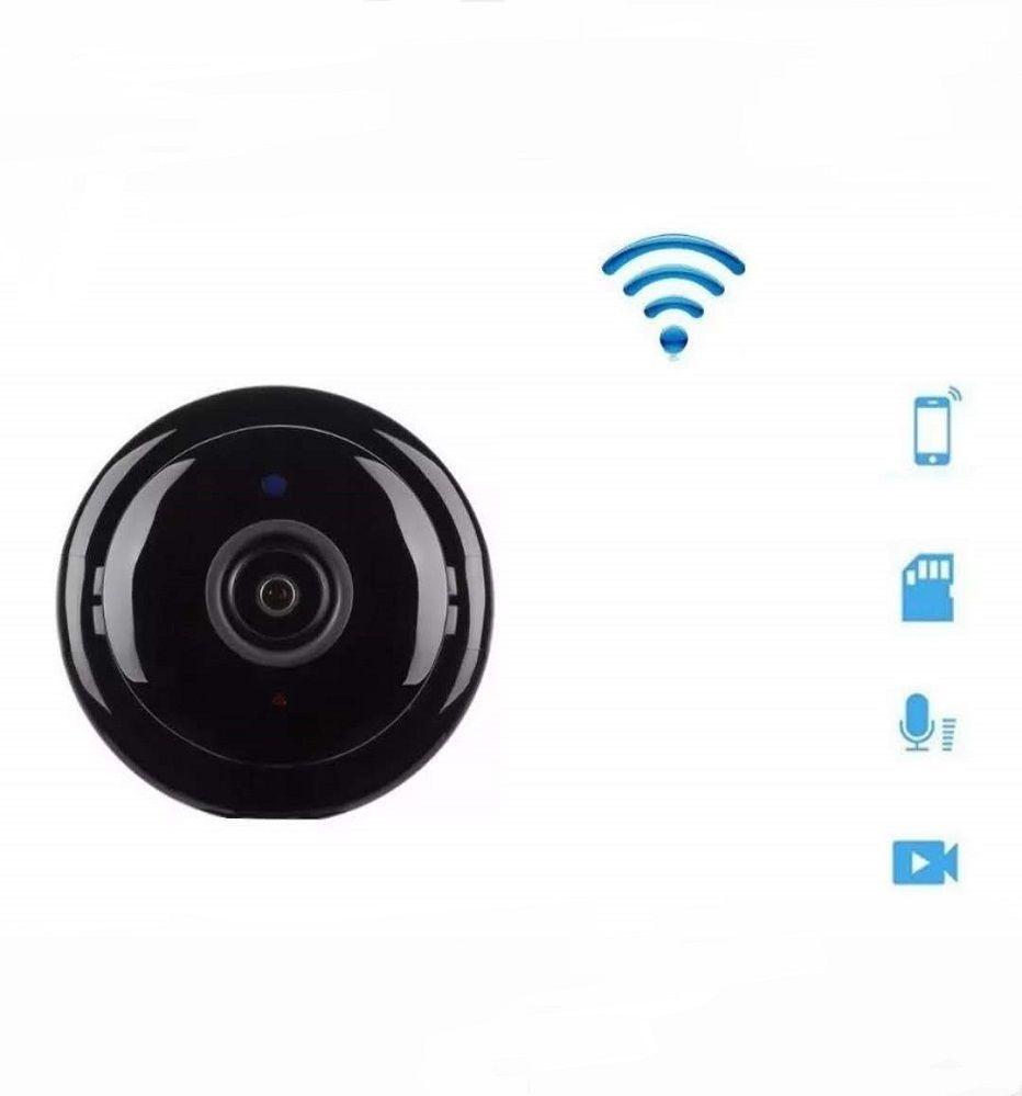 Mini Câmera Espiã Visão Noturna Ip Wi-fi Hd 720p Bd-Jk
