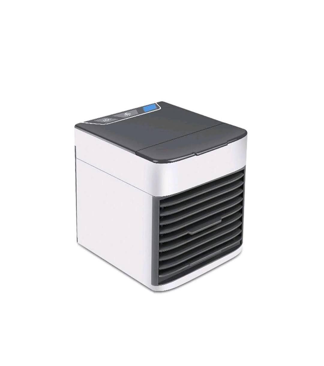Mini Climatizador Ar Ventilador Portátil USB Bivolt Tomate MLF-003