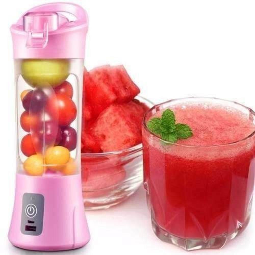 Mini Liquidificador Squeezer Portátil 380ml Juice Cup Recarregável