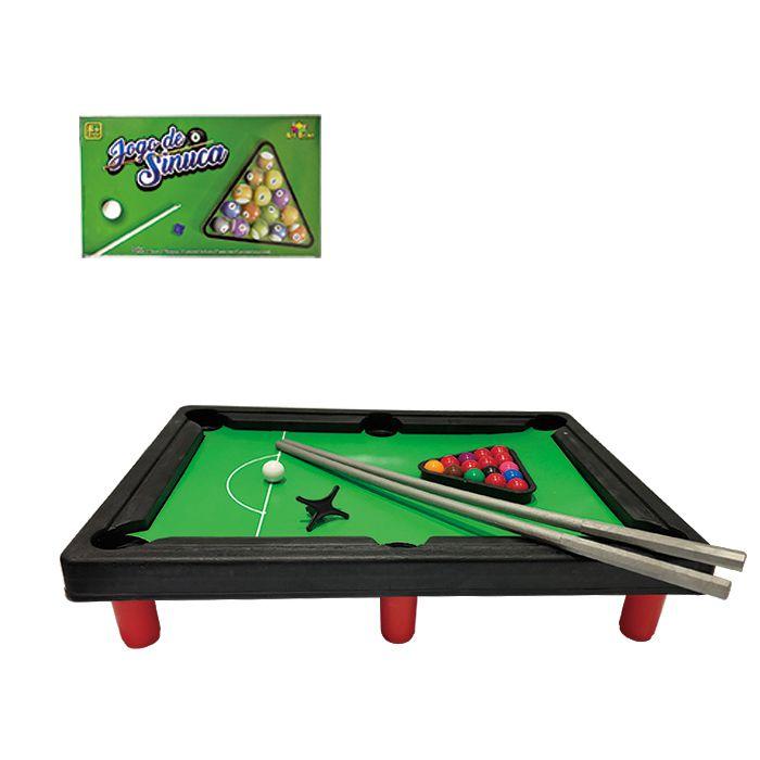 Mini Mesa De Sinuca Jogo De Snooker Bilhar Infantil Criança Art Brink