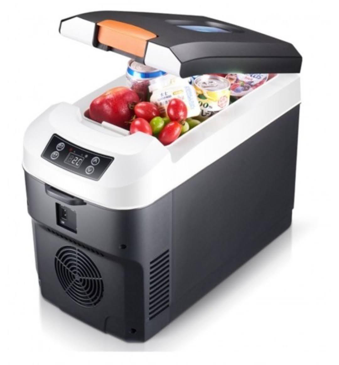 Mini Refrigerador 12V / Automotiva Cooler E Aquecedor Portátil 10 Litros Carro