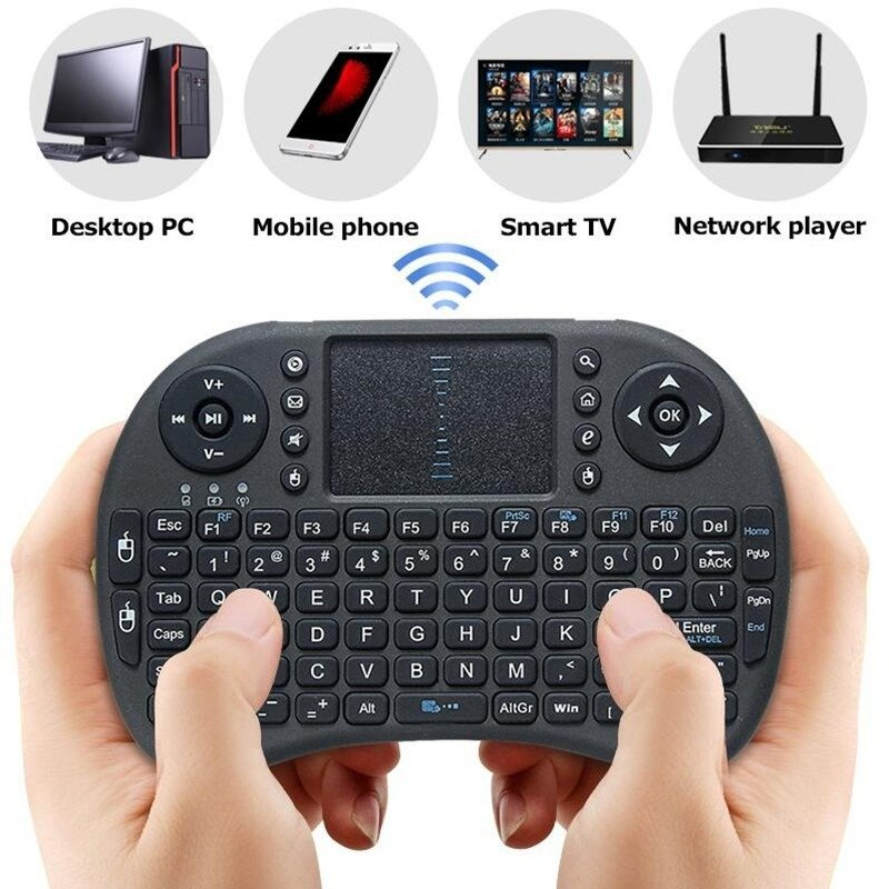 Mini Teclado Wireless Keyboard Mouse SMART TV Samsung LG sem Fio