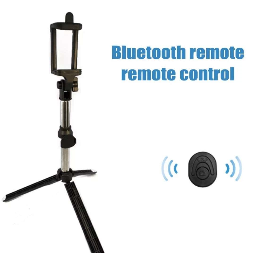 Mini Tripe Suporte Celular Pau Selfie Controle Blutooth 3 EM 1 Hmaston
