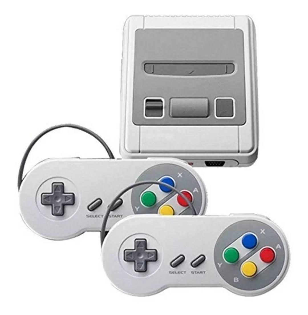 Mini Vídeo Game Jogos Retrô Clássico 500 Jogos Mario Sonic 8 bit Eony LH-6666