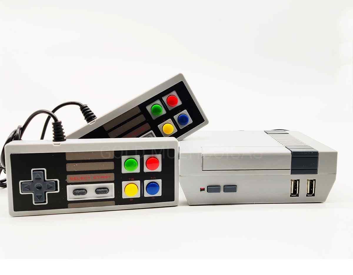 Mini Vídeo Game Jogos Retrô Clássico 500 Jogos Mario Sonic 8 bit Eony LH-7777