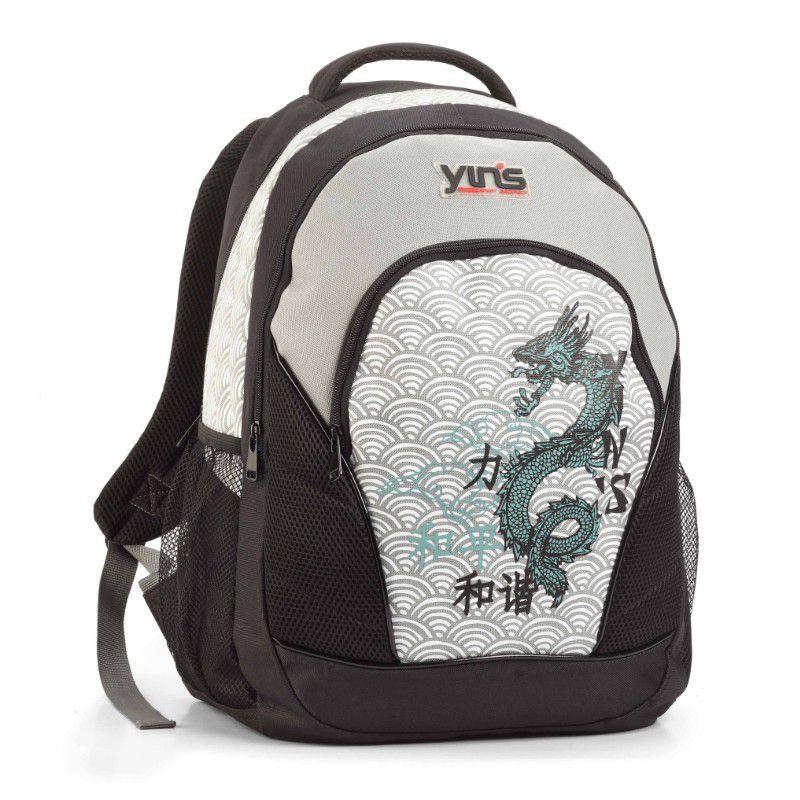 Mochila Masculina Dragão Chines Com Três Repartições Yin's MJ1055