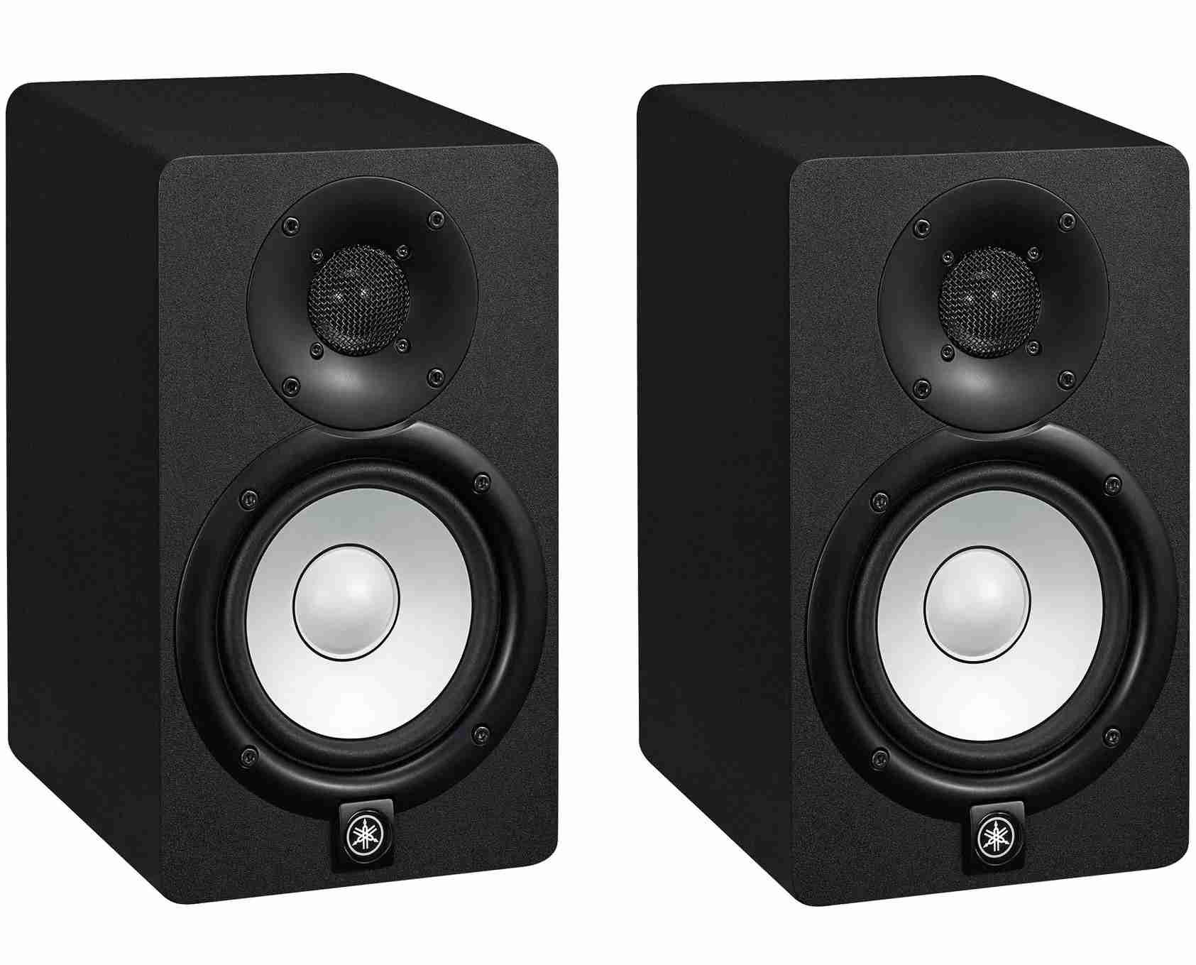 Monitor Ativo De Referência para Estúdio 70W RMS HS5 Yamaha 110v ( Par )