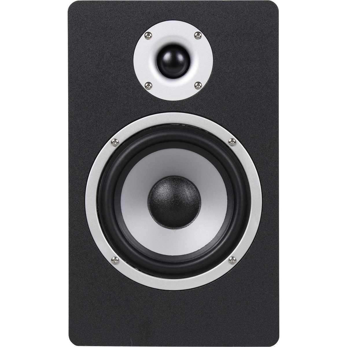 Monitor de Referência P/Estúdio Bi-amplificado M50 Hayonik Preto 110v