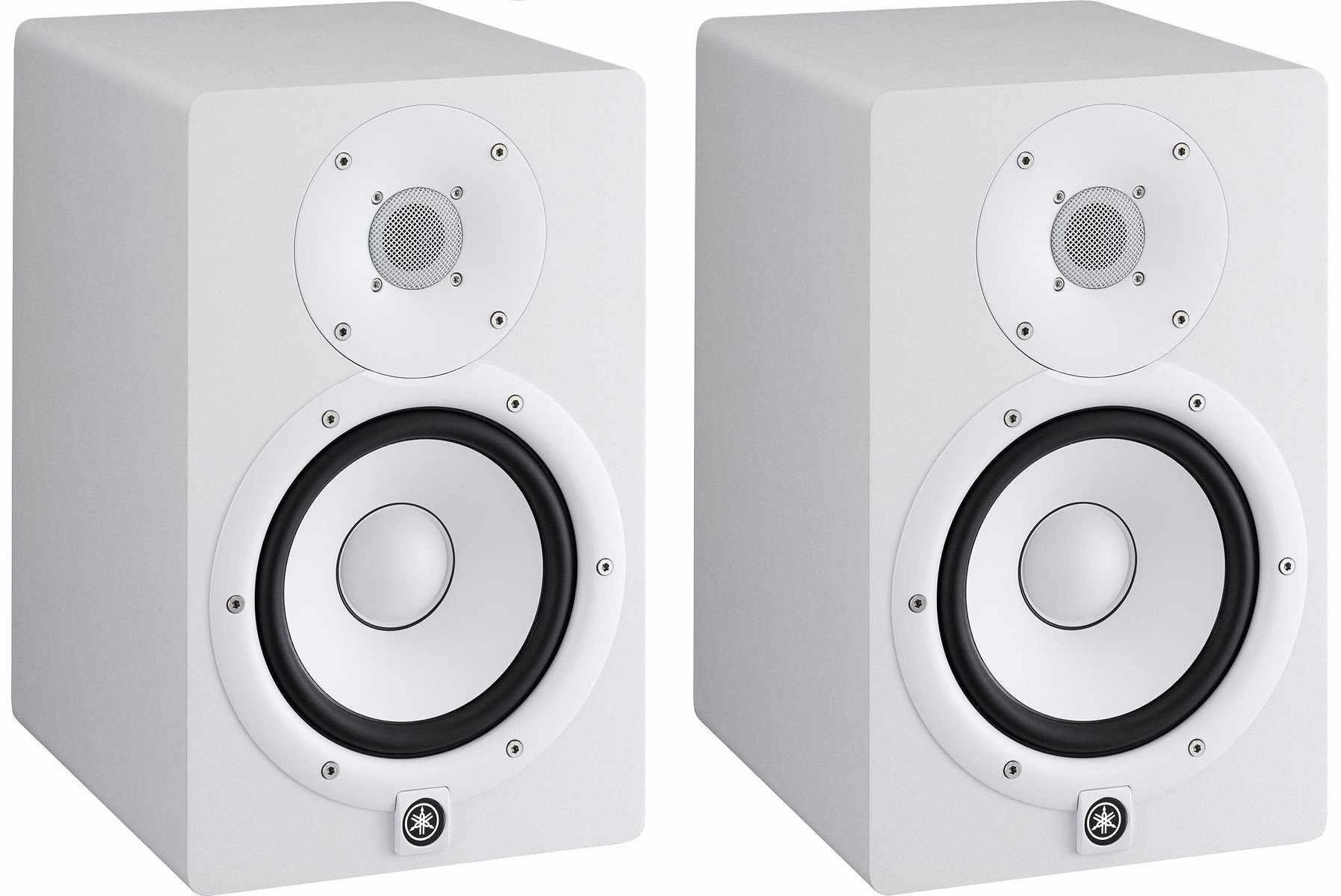 Monitor de Referência para Estúdio 95W RMS HS7 Branco Yamaha ( Par )