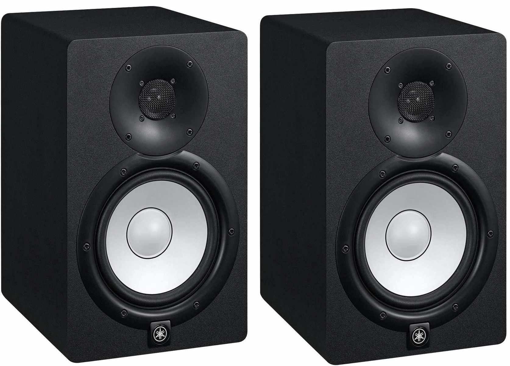 Monitor de Referência para Estúdio 95W RMS HS7 Preto Yamaha ( Par )