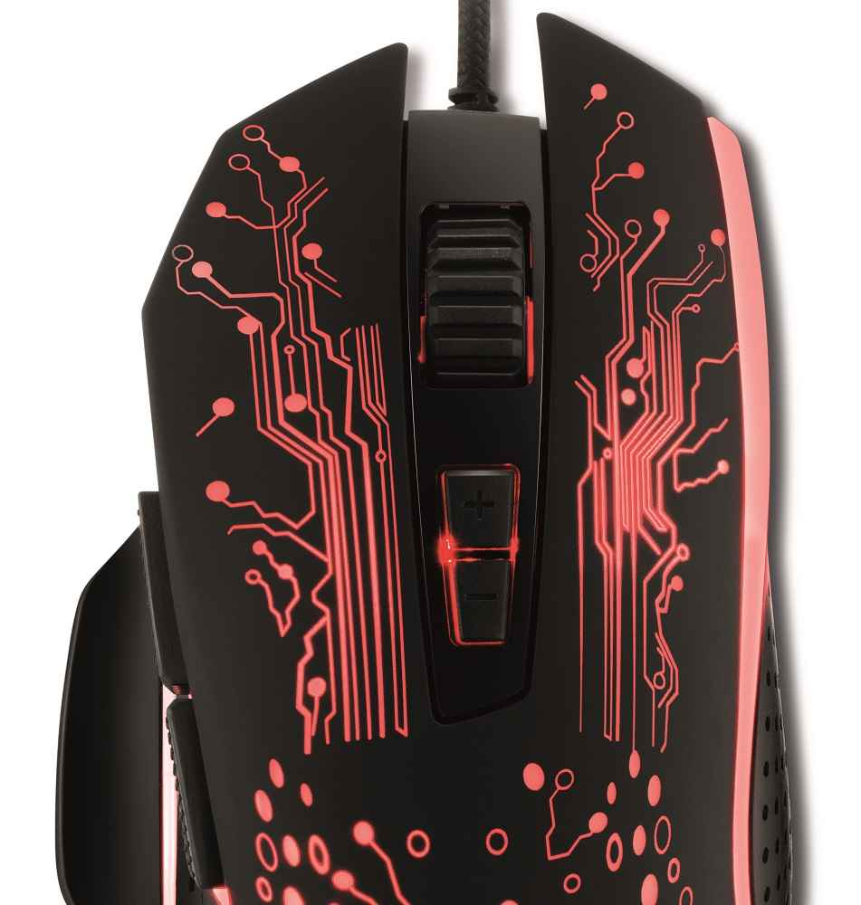 Mouse Gamer Led Rgb Usb 3200 Dpi 8 Botões GMF-03 Xzone