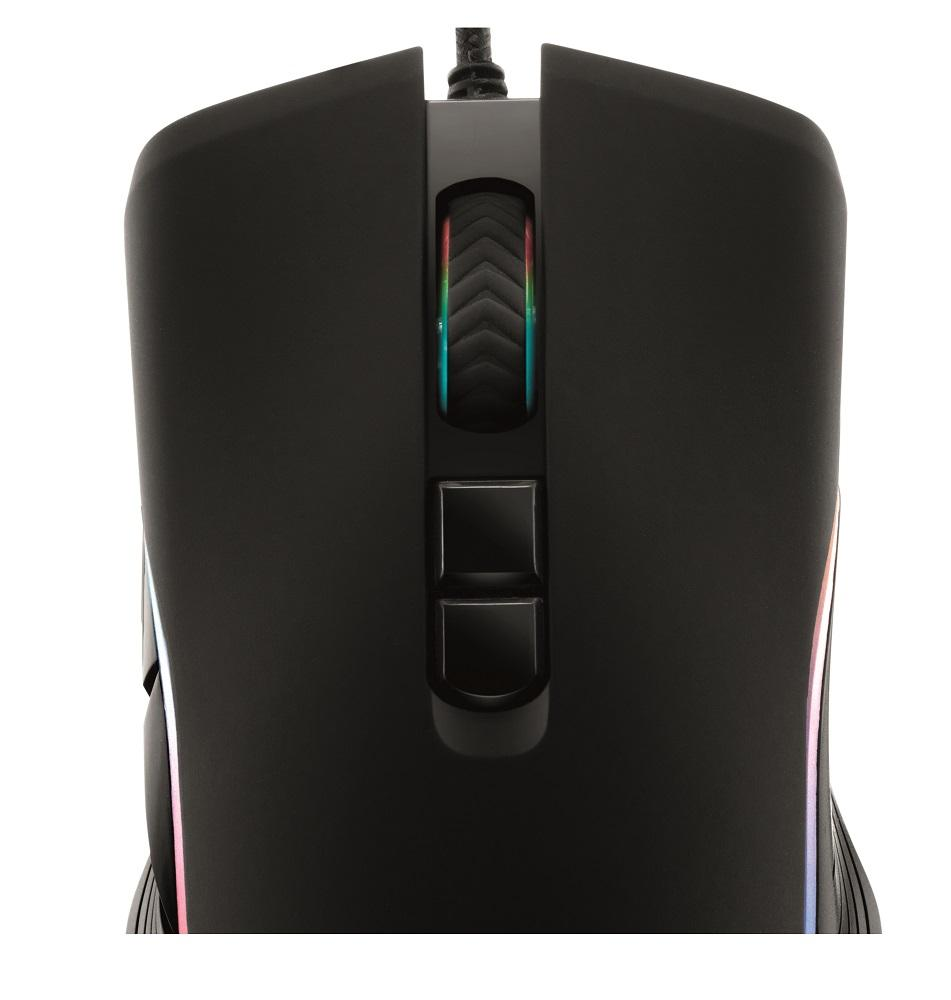 Mouse Gamer Led Rgb Usb 4800 Dpi 7 Botões GMF-01 Xzone