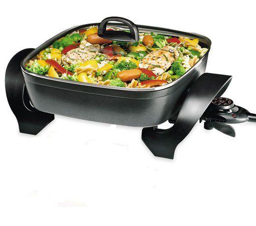 Panela Elétrica Cook Chef PE1000 127V Black & Decker 1200w Multifuncional
