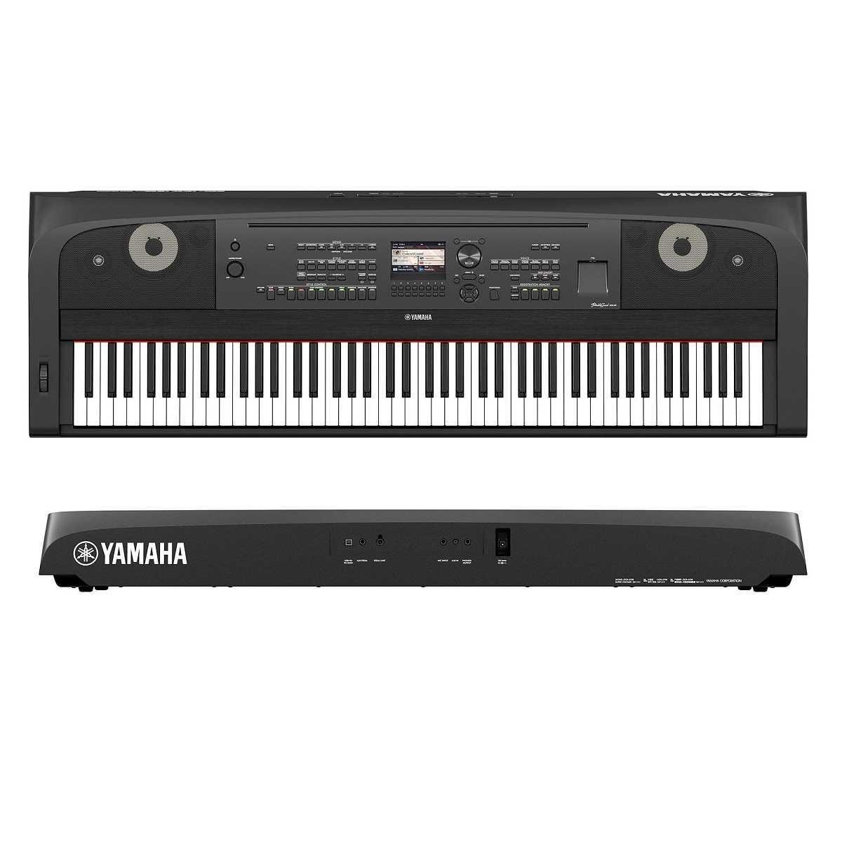 Piano Digital Yamaha DGX-670 Preto Com Fonte Bivolt e Pedal Sustain