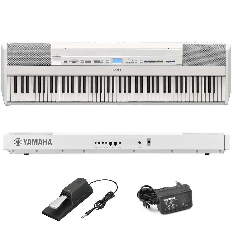 Piano Digital Yamaha P515W Branco Midi Usb Bluetooth 88 Teclas Portátil