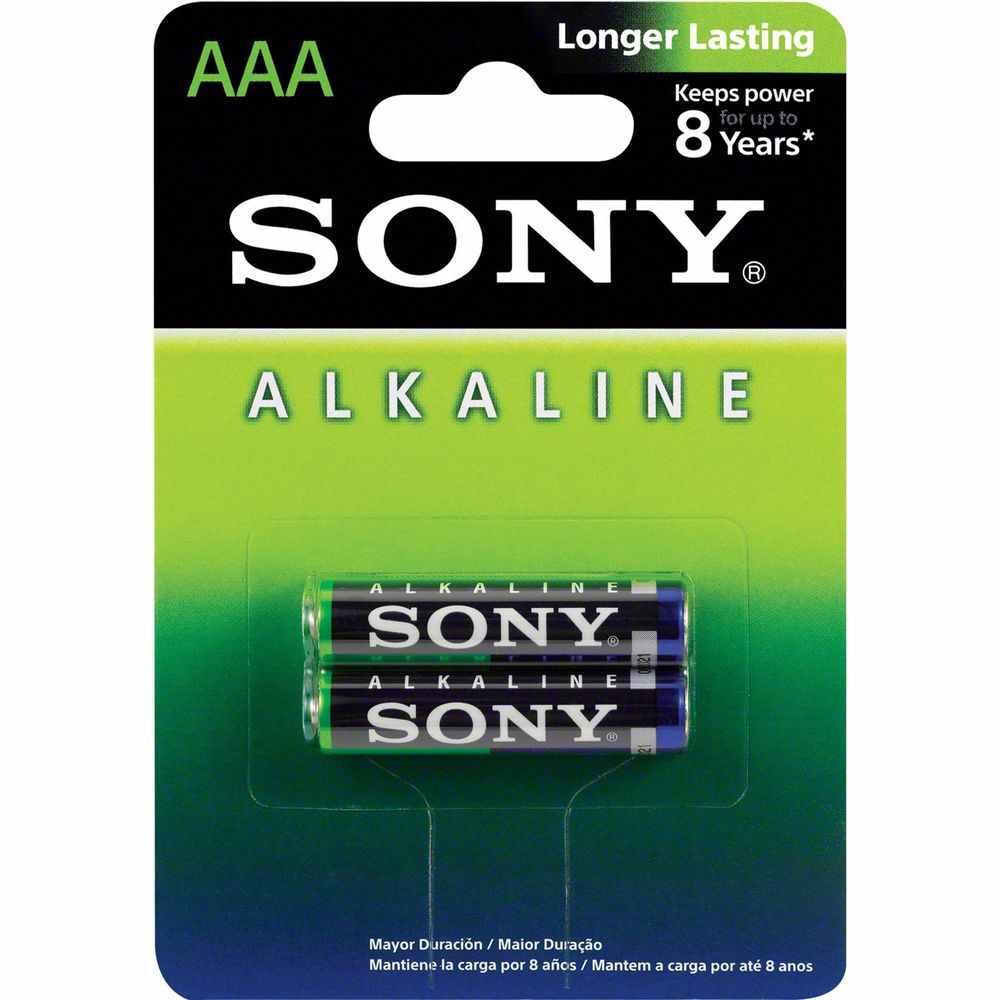 Pilha Alcalina AAA AM4L-B2D Caixa C/24 pilhas Cada Cartela C/2 pilhas