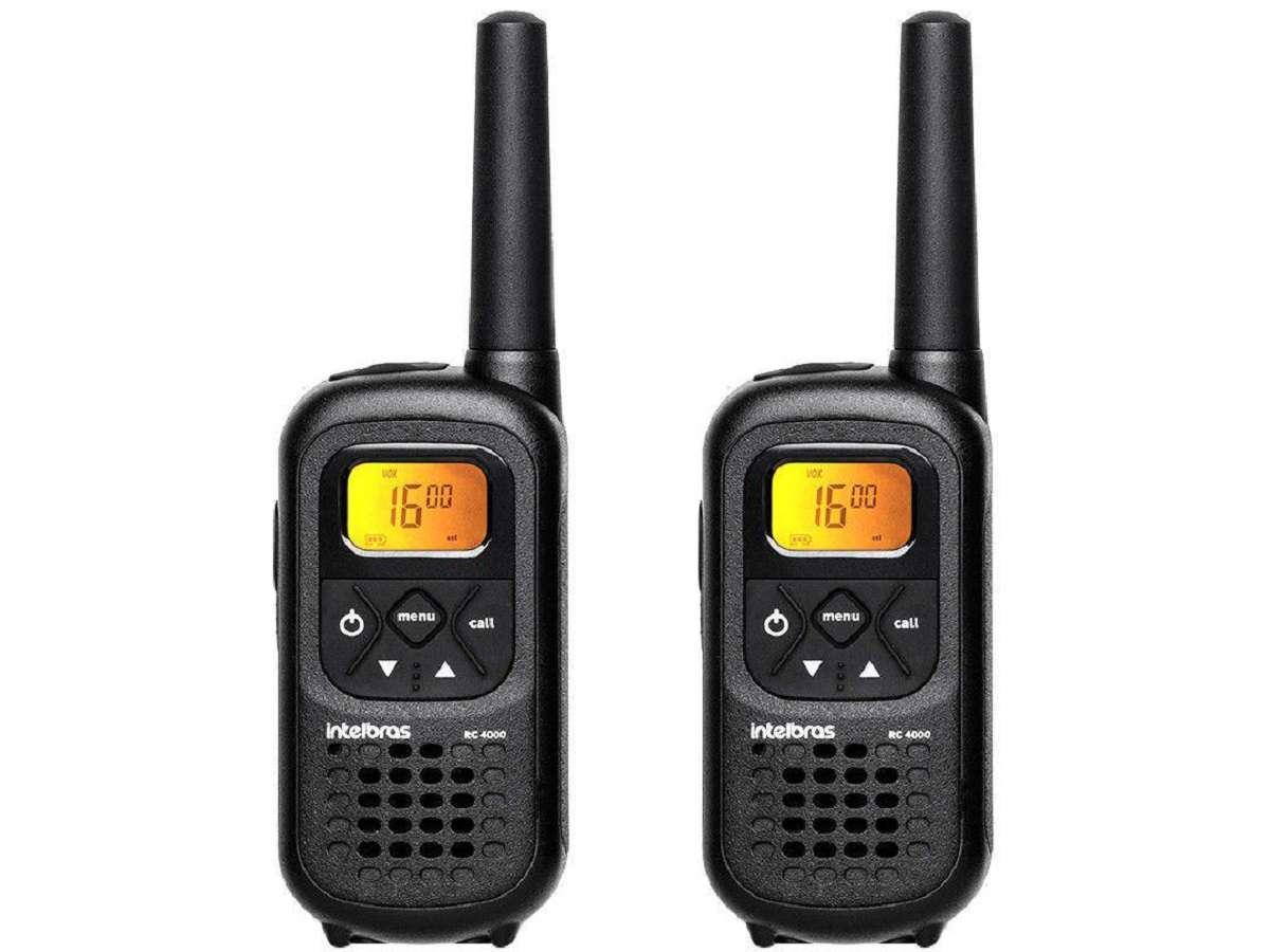 Rádio Comunicador Até 20Km RC 4000 Intelbras Bivolt