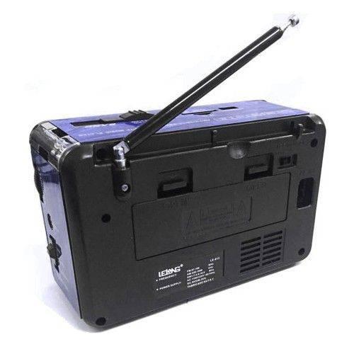 Rádio Portátil Retro Usb Sd Peandrive Am/Fm/Sw Lelong Le-613 Bivolt