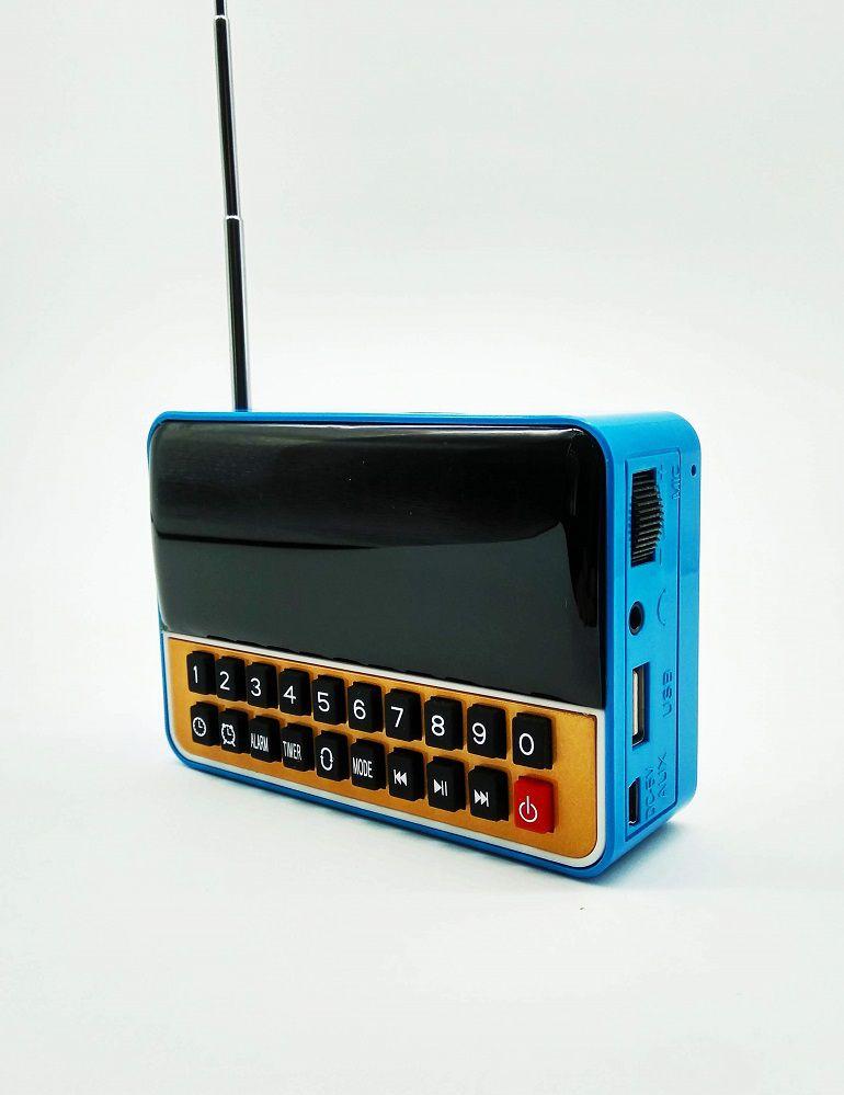 Radio Relógio Digital Despertador FM Bluetooth WS-1513BT USB SD FM MP3