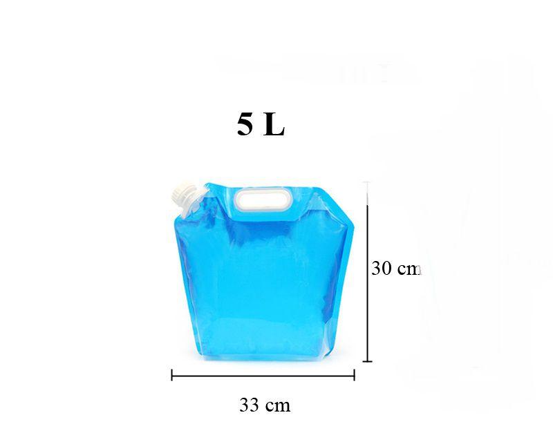 Recipiente Garrafa De Água Dobrável 5l