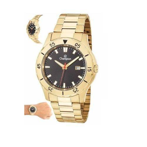 Relógio Analógico Masculino Dourado Champion Ca31337u