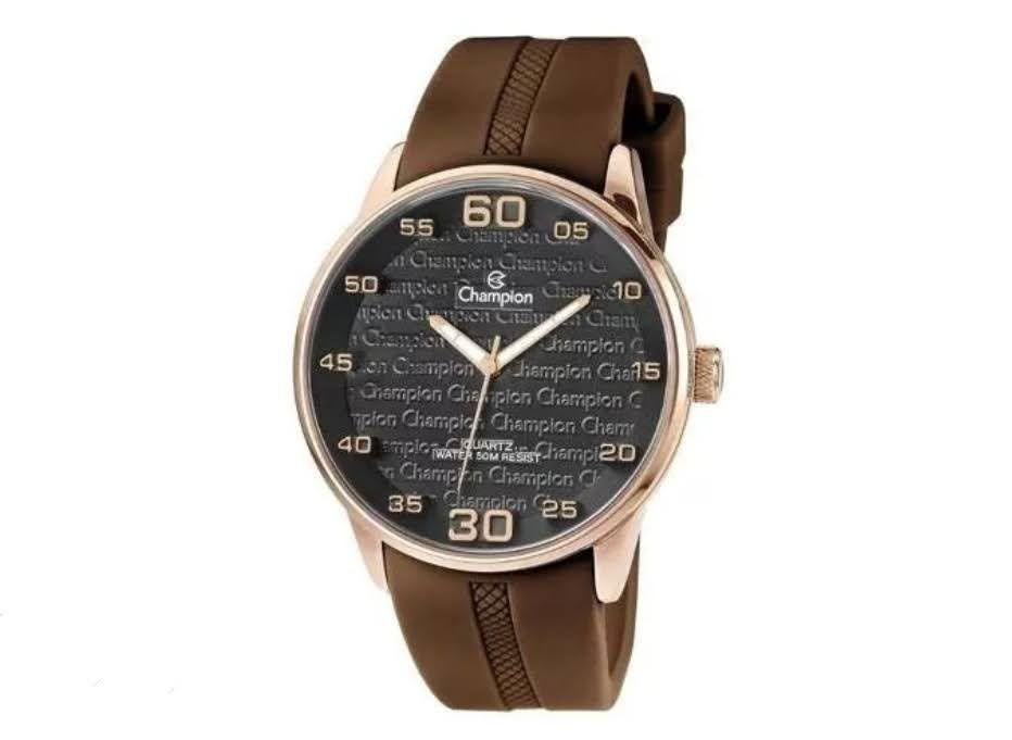 Relógio Analógico Unissex Pulseira De Silicone Champion CH30206U