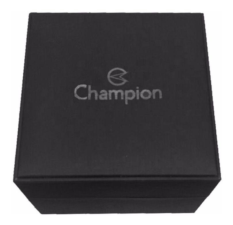 Relógio Champion Digital Feminino Rosê Pulseira De Metal Milanese CH48028P