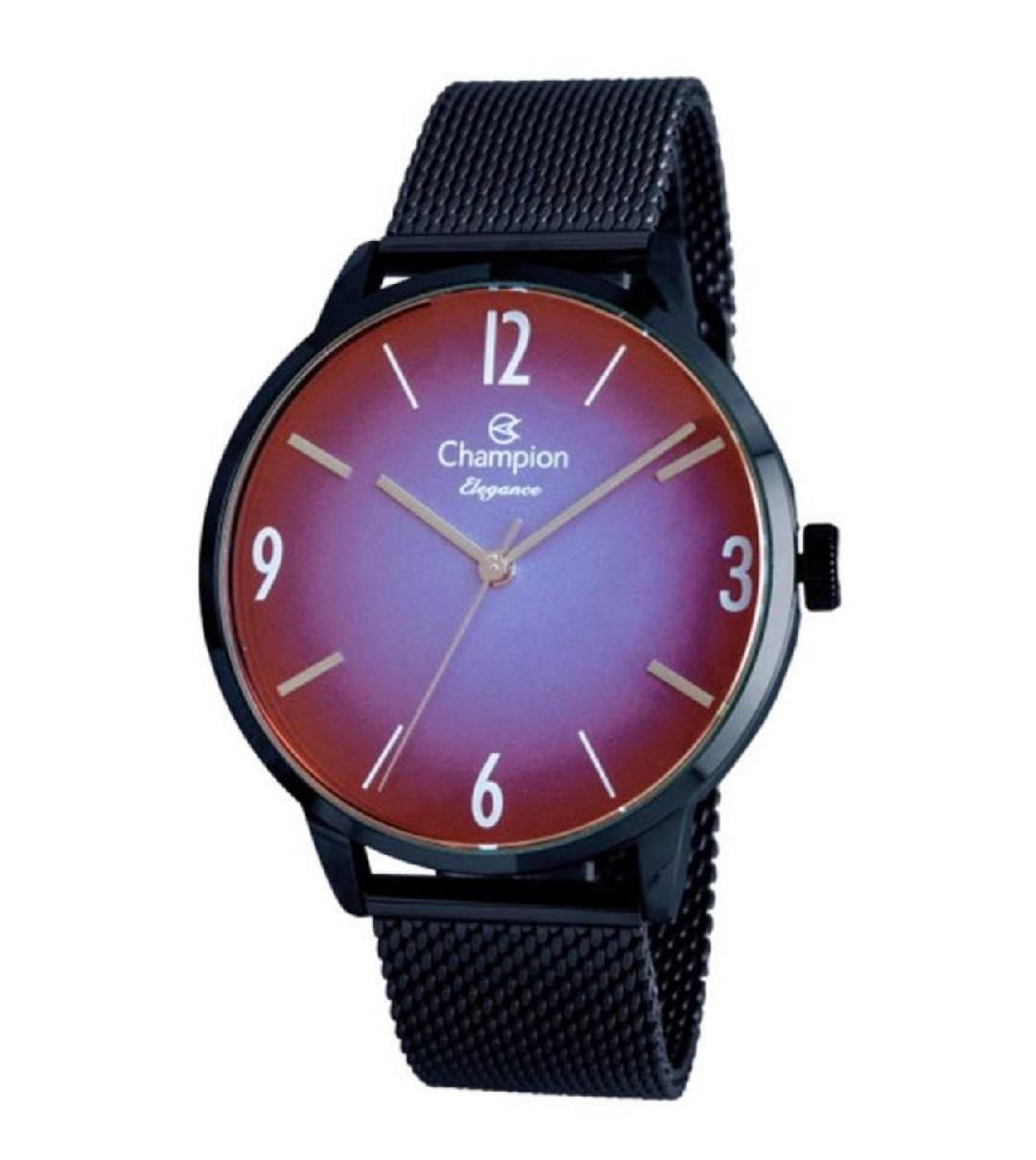 Relógio Champion Elegance Feminino Marrom CN20837K