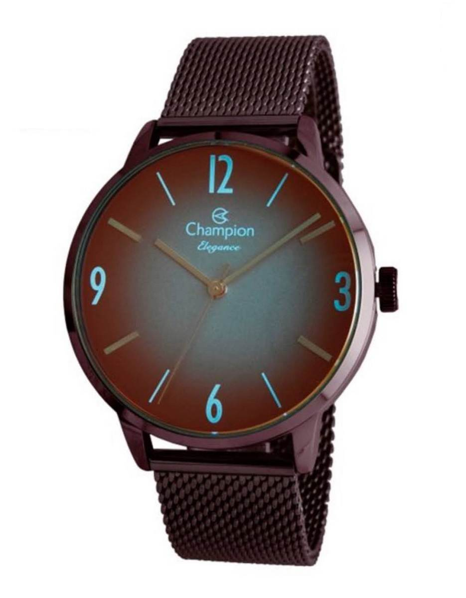 Relógio Champion Elegance Feminino Marrom CN20837L