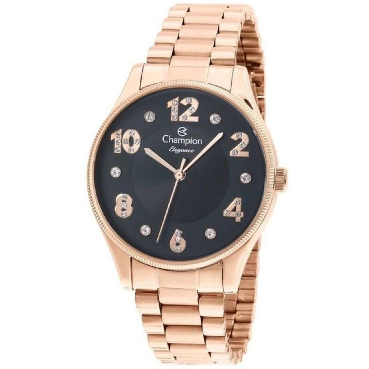 Relógio Champion Elegance Feminino Rose CN24002P