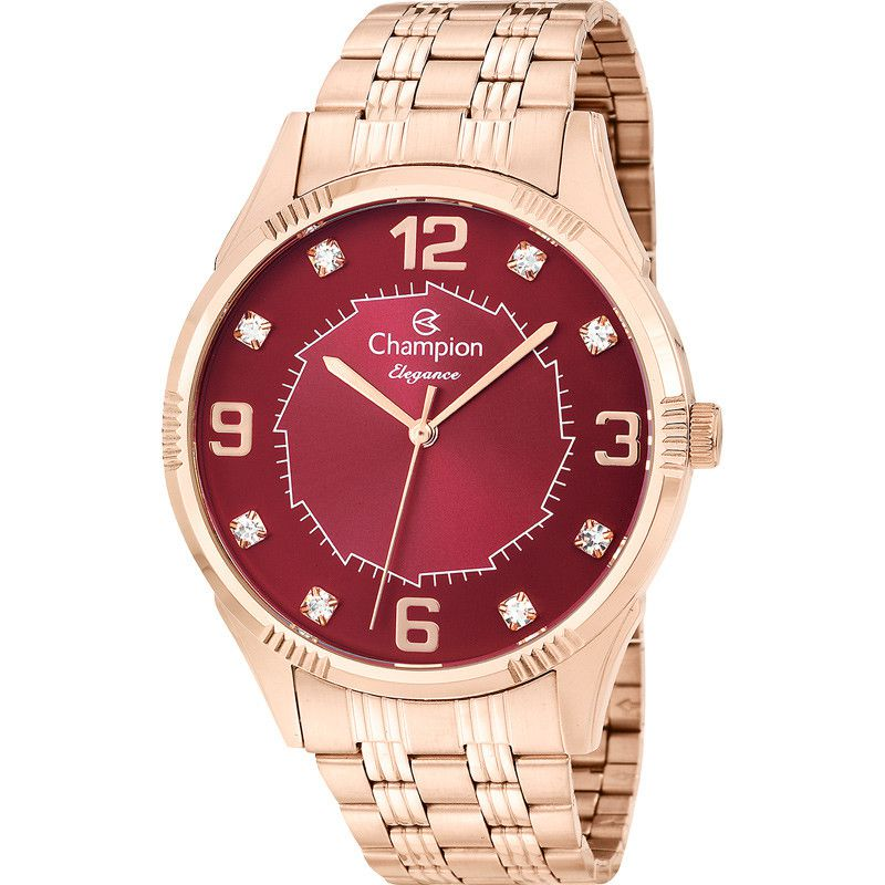 Relógio Champion Feminino Analógico Social Rosê Cn25814i
