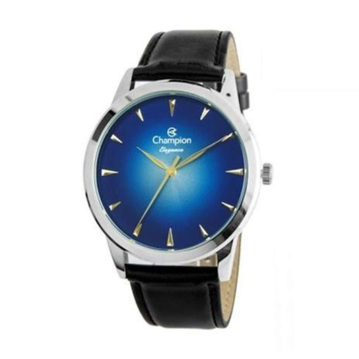 Relógio Champion Feminino Azul/Preto CN20828F