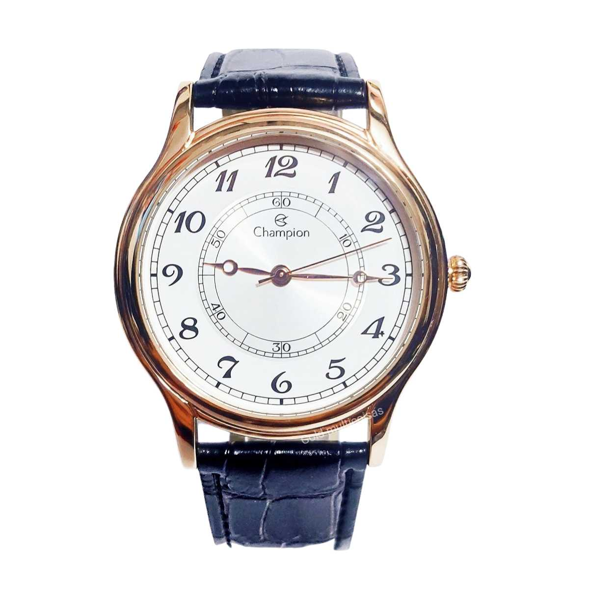 Relógio Champion Feminino Rose/Preto CN20686Z