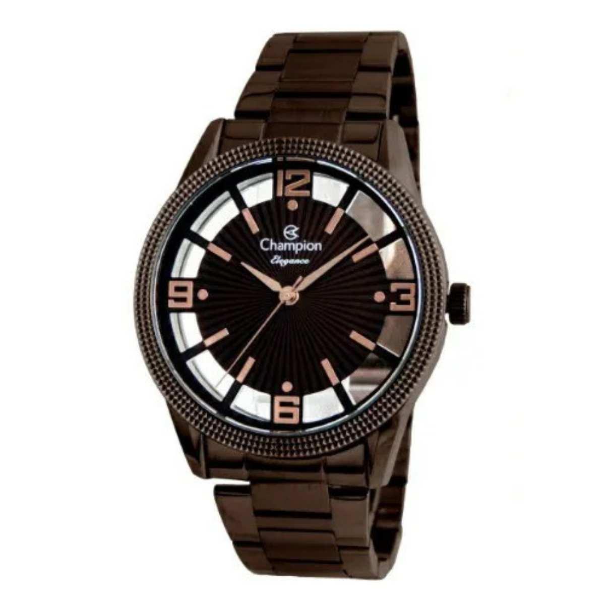 Relógio Champion Feminino Marrom CN20882R